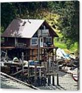 Ketchikan Buildings With Character 2 Canvas Print