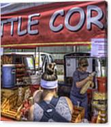 Kettle Corn Canvas Print
