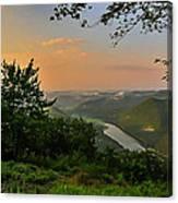 Kettle Creek Vista Canvas Print
