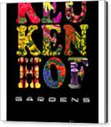 Keukenhof Gardens The Poster Canvas Print