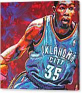 Kevin Durant 2 Canvas Print