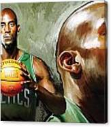 Kevin Garnett Artwork 1 Canvas Print