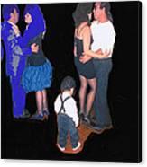 Kevin Howard's Wedding Dancers Tucson Arizona 1990-2012 Canvas Print