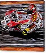 Kevin Schwantz Canvas Print