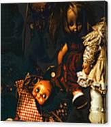 Kewpie's Bad Dream Canvas Print