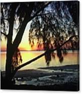 Key Biscayne Sunset Canvas Print