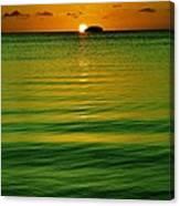 Key Largo Sundown Canvas Print