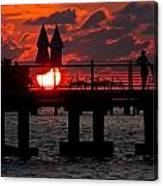 Key West Florida Sunrise Canvas Print