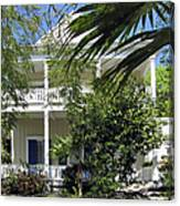 Key West House Canvas Print