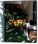 Key West Porch Canvas Print