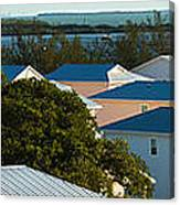 Key West Rooftops Canvas Print