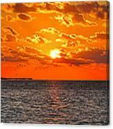Key West Sunset 11 Canvas Print