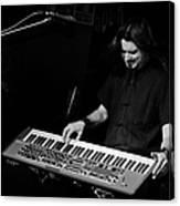 Keyboards Canvas Print