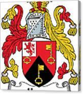 Keyes Coat Of Arms Irish Canvas Print