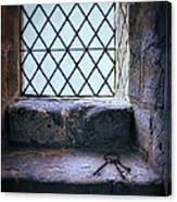 Keys On Stone Windowsill Canvas Print