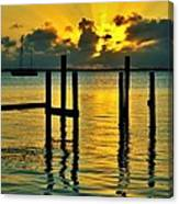 Keys Sunset Canvas Print