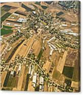 Kfar Yehezkel, Gilboa Canvas Print