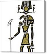 Khensu - God Of Ancient Egypt Canvas Print