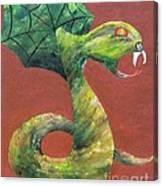 Khiel...The Snake Canvas Print