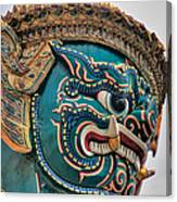 Khmer Guard Canvas Print