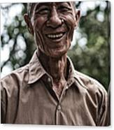 Khmer Peasant Canvas Print
