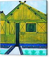 Kiddie House Canvas Print