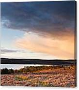 Kielder At Sunset Canvas Print