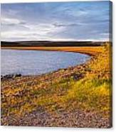 Kielder Dam In Late Evening Canvas Print