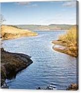 Kielder Water Inlet Canvas Print