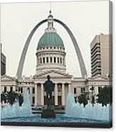 Kiener Plaza - St Louis Missouri Canvas Print