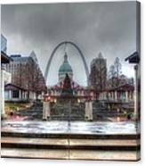 Kiener Plaza Canvas Print