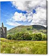 Kilchurn Castle Ruin Canvas Print