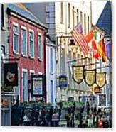 Killarney Ireland Storefronts 7690 Canvas Print