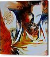 Killer Look Canvas Print