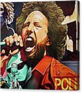 Zack De La Rocha-killing In The Name  Canvas Print