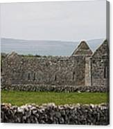 Kilmacduagh Church Ruin Canvas Print