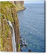 Kilt Rock Waterfall Canvas Print