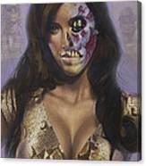 Kim Kardashian - They Live Canvas Print