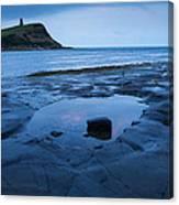 Kimmeridge Bay At Dawn Canvas Print