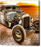 Millers Chop Shop 1946 Chevy Truck Canvas Print