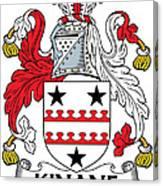 Kinane Coat Of Arms Irish Canvas Print