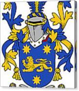 Kindelan Coat Of Arms Irish Canvas Print