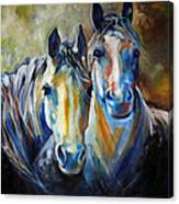 Kindred Souls Equine Canvas Print