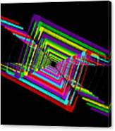 Kinetic Rainbow 17 Canvas Print