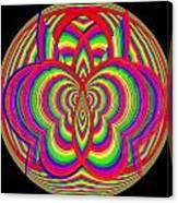 Kinetic Rainbow 28 Canvas Print