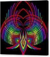 Kinetic Rainbow 30 Canvas Print