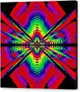 Kinetic Rainbow 44 Canvas Print