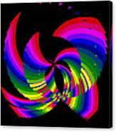Kinetic Rainbow 51 Canvas Print