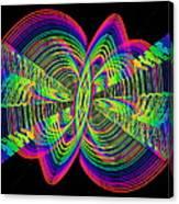 Kinetic Rainbow 55 Canvas Print