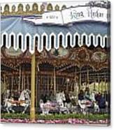 King Arthur Carrousel Fantasyland Disneyland Canvas Print